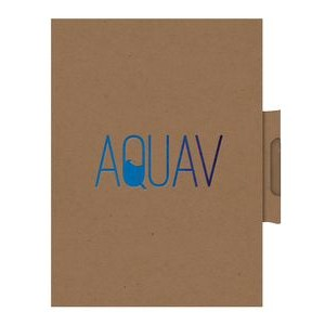 "EcoWrap™ Small NotePad w/Pen (5""x7"")"